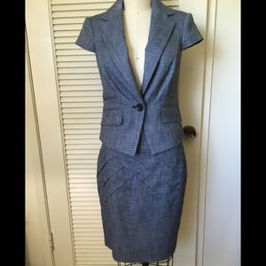 The Limited navy blue suit